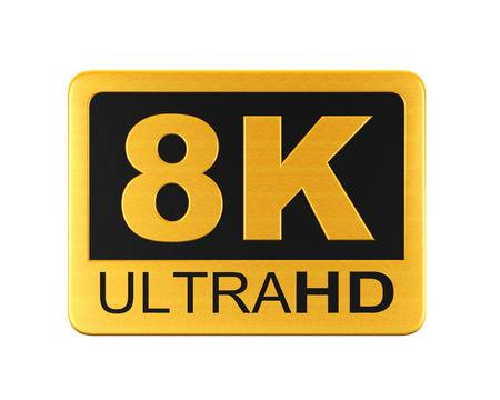 8k ultra hd digital display