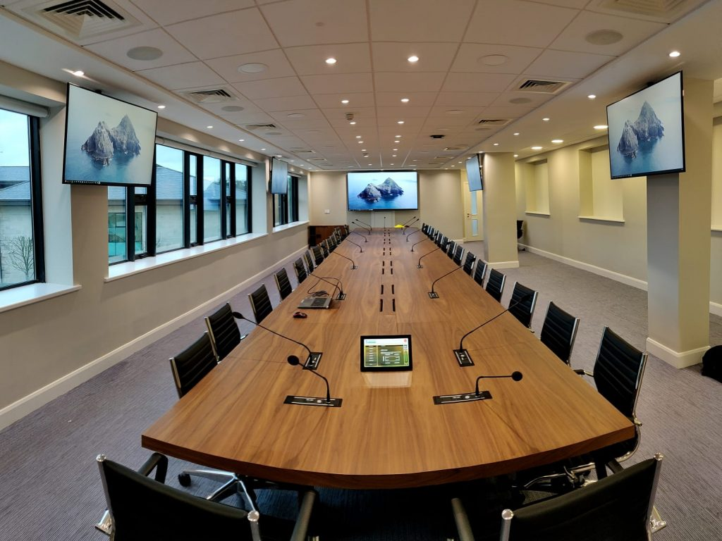 Boardroom 3 with Support Monitors