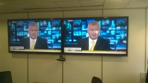 Duel Monitors Sky News