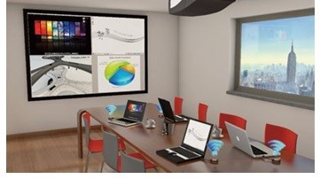 Barco Clickshare Wireless Collaboration Systems Distributed by Meritec