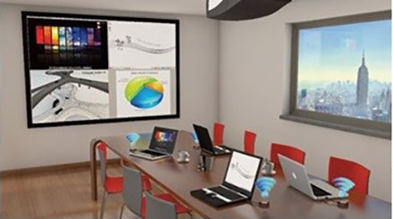 Av Collaboration Systems Av Collaboration Spaces Meritec