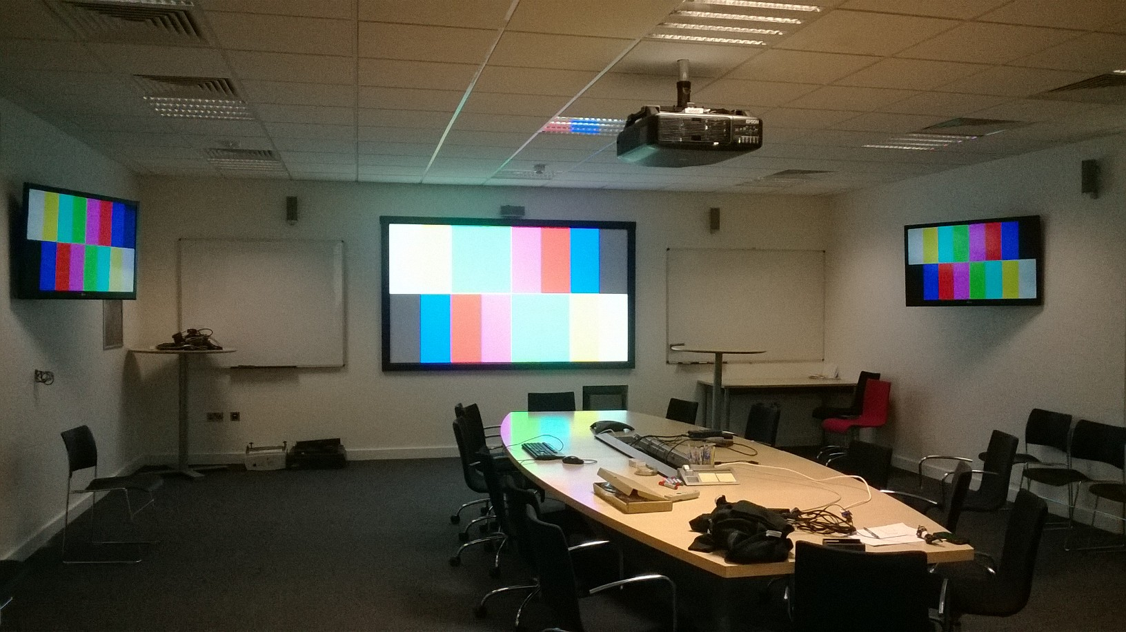 Audio Visual Design Integration for Ericsson by Meritec