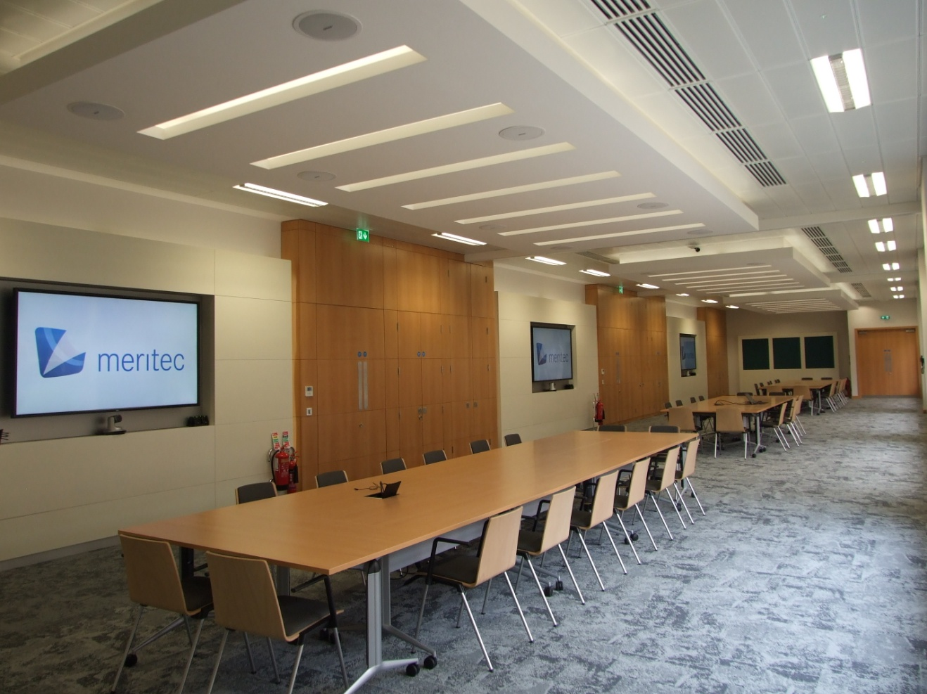 Audio Visual Fit Out for Failte Ireland by Meritec