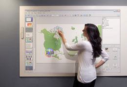 Interactive Flat Panels supplied to Irish schools by Meritec