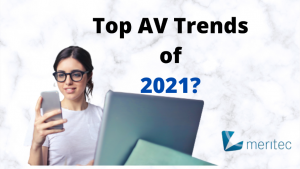 As always, the AV industry finds itself in a constant state of evolution. As we face into another year – let's look at some of the possible trends coming down the track for the AV industry. Some are in their infancy while others are in full motion and are set to continue to snowball. Let's explore…. Going touchless People have been looking for a smoother UX for a long time now. However unquestionably the covid-19 pandemic has led to a far greater push for touchless technology. The need to avoid touching common surfaces has increased in the wake of a greater need for safer work environments. This could mean more fully automated rooms with sensors which will activate upon entry and consequently more wireless content sharing. Likewise on the audio front, minimising contact with microphones will only increase. Although an array microphones are typically used in conference room settings, they may be deployed more across different industries such as entertainment, government etc. Smart workplaces As explained in our future of video conferencing post – the office of tomorrow will continue to evolve. With many employees expected to continue working fully remotely or at the very least, adopting a hybrid approach – the need to adapt AV and video conferencing into modern enterprises will be a must. As the modern worker becomes more mobile, so too will the workplace. In the past, you might have presented to your team in a small space or maybe even a huddle room. Now the ability to present wireless high-definition presentations with colleagues in and out of the room will be a prerequisite, not just an aspiration. And so, as workplace culture evolves… so too will the need for the latest AV to be implemented and maintained in a global, interdependent economy. The basis for all this of course is the correct implementation of AI (Artificial Intelligence) and IOT (internet of things). More on this below. Smart Devices & Bring your own Device As workplaces evolve, there will be an ine