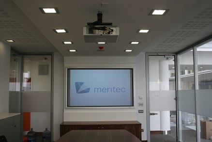 Projector Screens | HD Projector Supplier Ireland by Meritec
