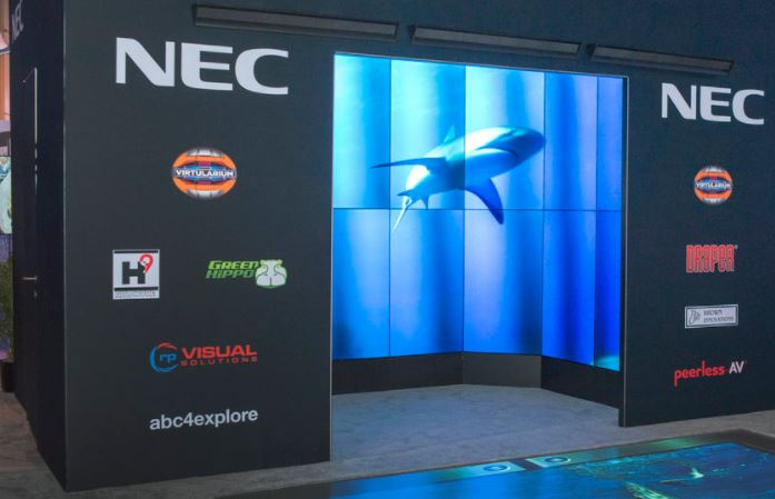 vr nec digital display