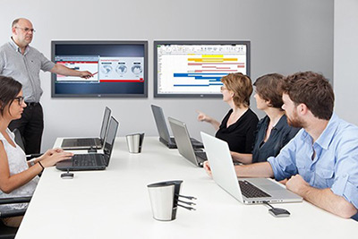 Clickshare | Wireless Presentation Systems from Mertitec